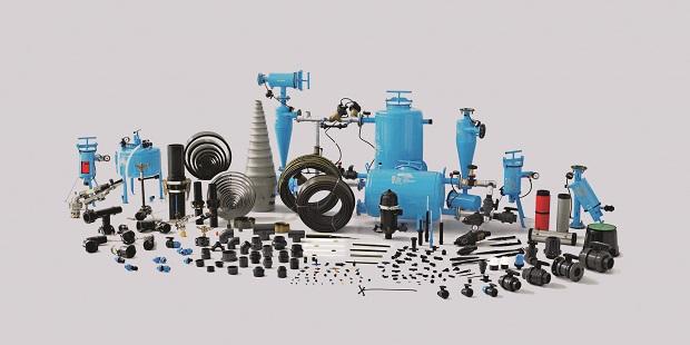 जैन इरिगेशनची विविध उत्पादने.
